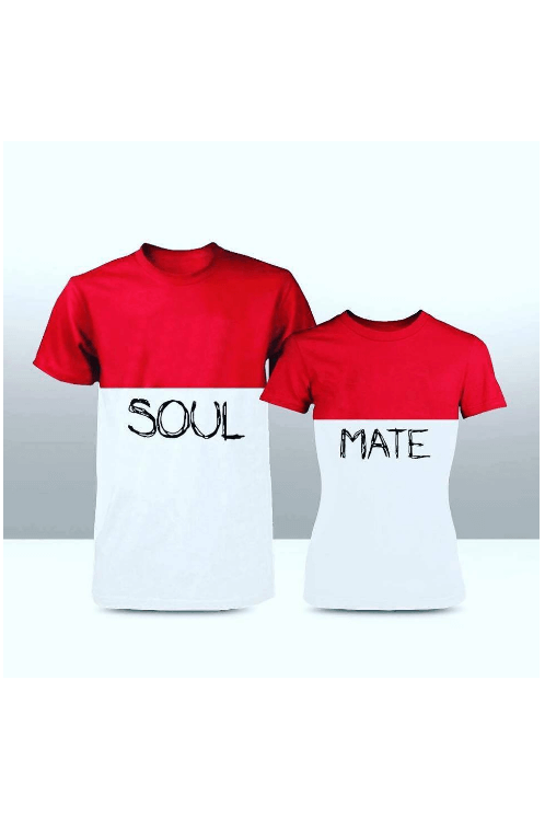 0b5803dad8 Soul Mate Couple Tees