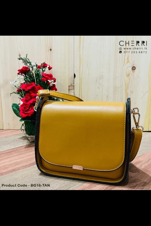 Mini Boxy Bag - Tan