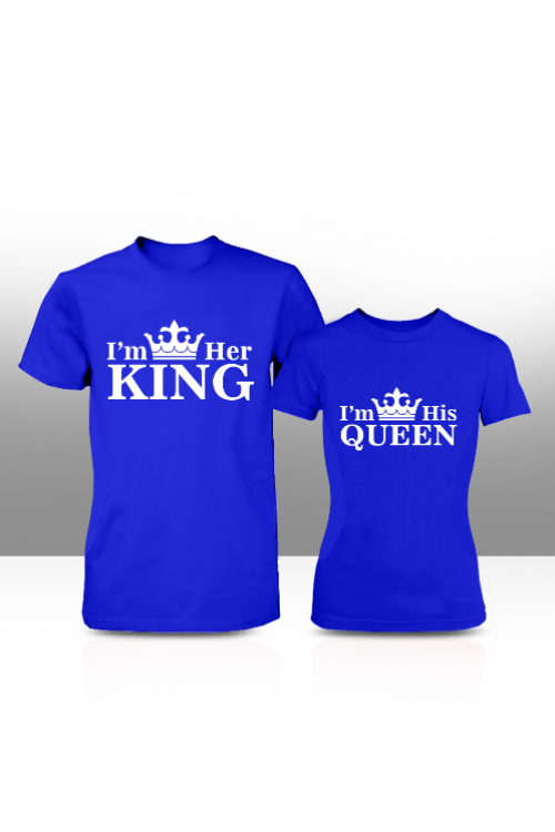 cdfadcd3c5 I'm her king I'm his queen couple tees| Cherri